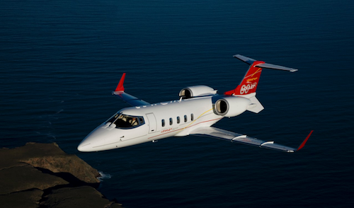 1. Learjet 60 XR