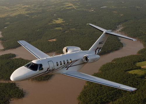 7. Cessna Citation CJ4