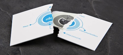12 creative business cards that double as cool gadgets nfc card by moo reheart Choice Image