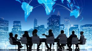 Business is conducted all over the world